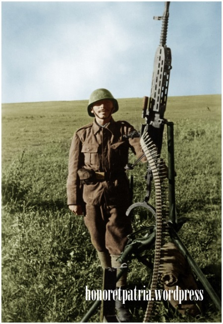 Soldat român. Basarabia – (4,5) Iulie 1941
